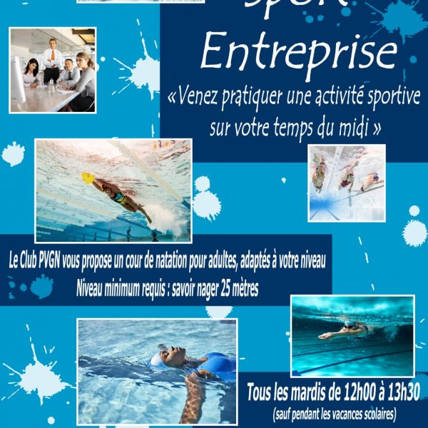 Cours Natation Adulte